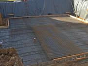 Herstellung Bodenplatte