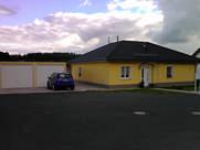 Einfamilienhaus mit Fertigteilgarage